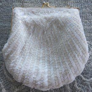 Handbags - Hand beaded mermaid wristlet
